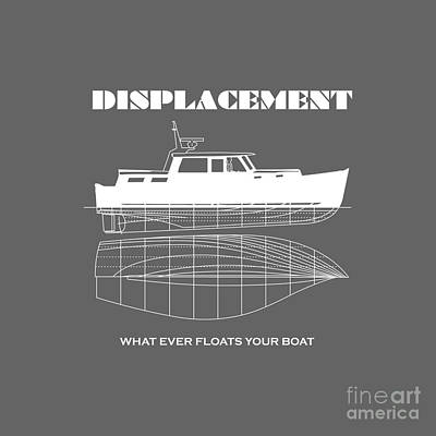 T-shirt Designs Drawing - Funny Designs Puns Displacement by Paul Telling