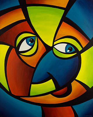 Painting - Funny Face by Sonia Wilkinson