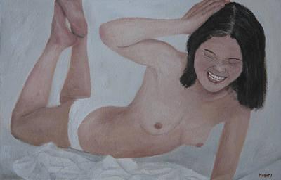 Painting - Funny Moment by Masami Iida