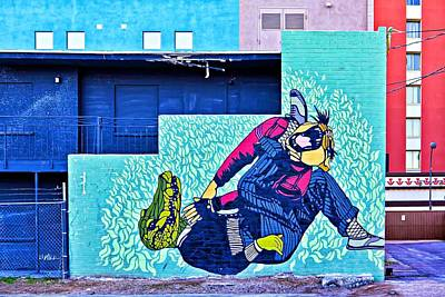 Photograph - Funny Mural by Tatiana Travelways