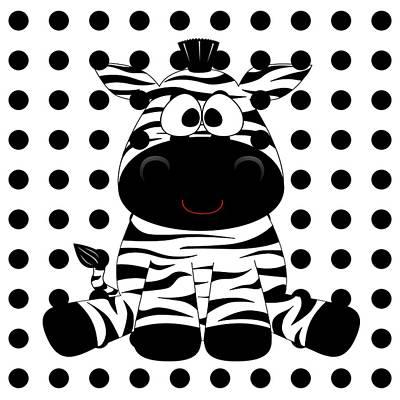 Photograph - Funny Zebra by Florene Welebny