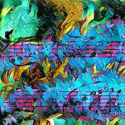 Digital Art - Fuoco Squared by Lon Chaffin
