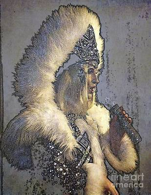 Photograph - Fur And Spangles by Jodie Marie Anne Richardson Traugott          aka jm-ART