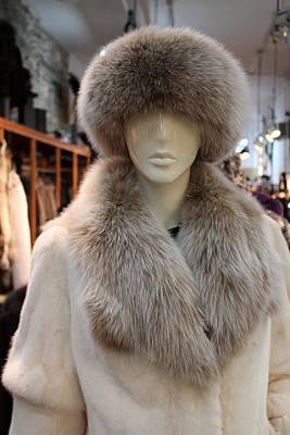 Photograph - Fur Coat by Carlos Diaz