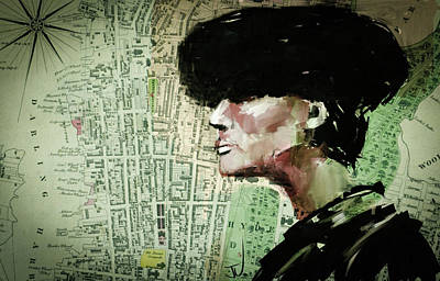 Digital Art - Fur Hat by Jim Vance
