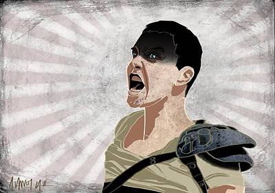 Furiosa Art Print by Alicia VanNoy Call
