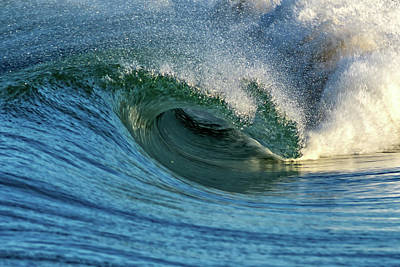 Surfing Photograph - Furious by Stelios Kleanthous