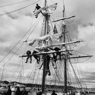 Photograph - Furling The Sails by Linda Lees