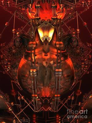 Digital Art - Furnace by Jon Munson II
