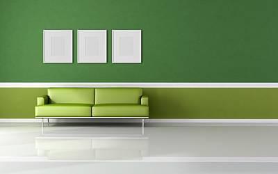 Artwork Digital Art - Furniture by Maye Loeser