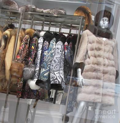 Photograph - Furs by Anna Yurasovsky