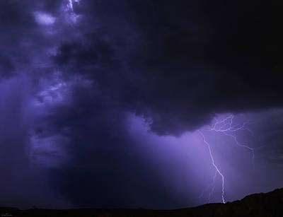 Photograph - Fury In The Storm by Rick Furmanek