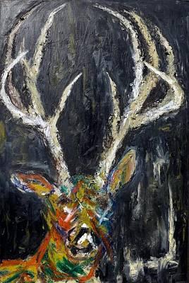 Liberal Painting - Fury by Tessa Lang