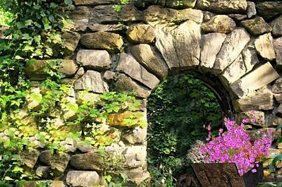 Photograph - Furzen Hill Ruins by Diana Angstadt
