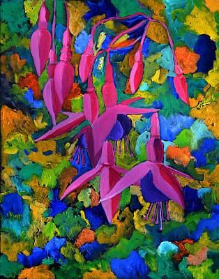 Fuschia 4551 Art Print by Pol Ledent