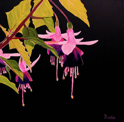 Painting - Fuschia by Susan Duda