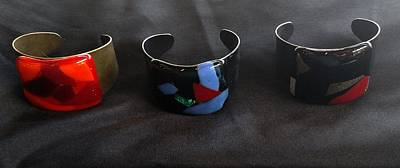 Jewelry - Fused Glass Bracelets by Lori Jacobus-Crawford