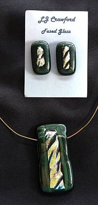 Jewelry - Fused Glass by Lori Jacobus-Crawford
