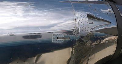 Photograph - Fuselage Reflection by Michele Myers