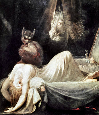 Artflakes Photograph - Fuseli: Nightmare, 1781 by Granger