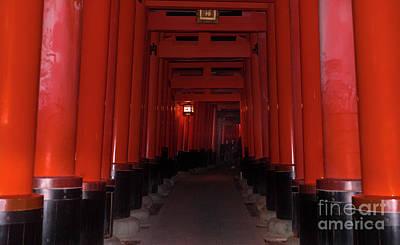 Photograph - Fushimi Inari Taisha, Kyoto Japan 3 by Perry Rodriguez