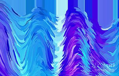 Digital Art - Fusion by Krissy Katsimbras