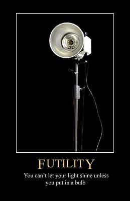 Digital Art - Futility by John Haldane