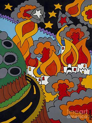 Future Development C Art Print by Rojax Art