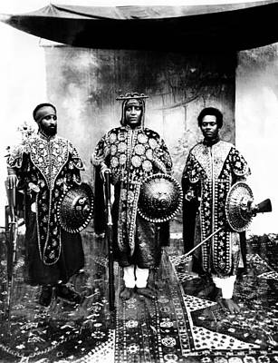 Future Emperor Haile Selassie Left Art Print by Everett
