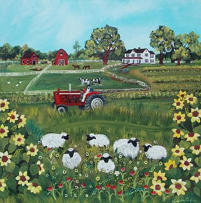Painting - Future Farmer by Virginia Coyle