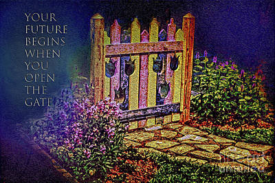 Photograph - Future Gate by Sandy Moulder