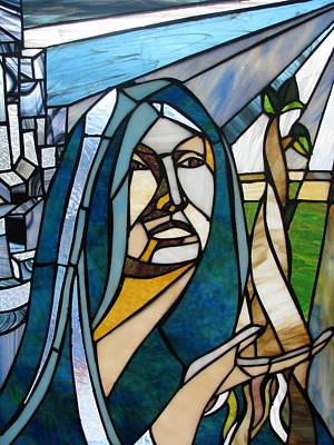 Future Mary Art Print by Alicia  LaRue