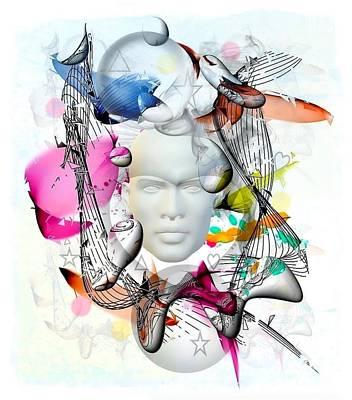 Digital Art - Future Of Life By Nico Bielow by Nico Bielow