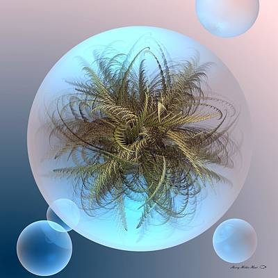 Friendly Digital Art - Future Preservation by Sherry Holder Hunt