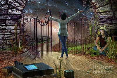 Digital Art - Future Road by Shadowlea Is