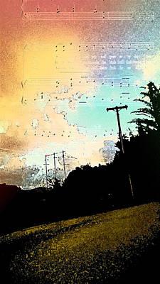 Landscape Photograph - Future Song by Coconut Lime Design