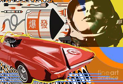 Futurepop Art Print