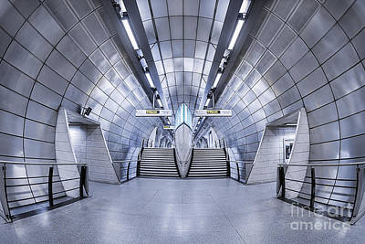 London Tube Photograph - Futurism by Evelina Kremsdorf