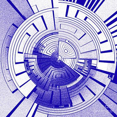Algorithmic Digital Art - Futuristic Abstract by Gaspar Avila