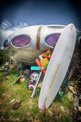 Photograph - Futuro House 2 by Alan Raasch