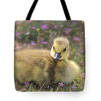 Photograph - Fuzzy And Cute - Tote by Donna Kennedy