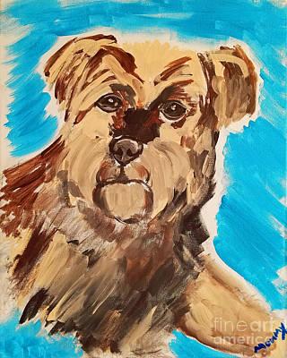 Painting - Fuzzy Boy by Ania M Milo