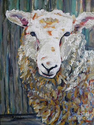 Painting - Fuzzy by JoAnn Wheeler