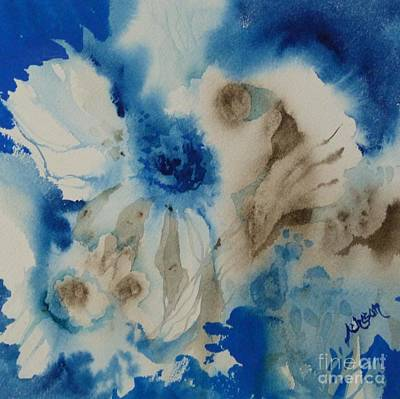 Painting - Fuzzy Things by Donna Acheson-Juillet