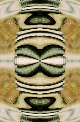Digital Art - Fuzzy Wave Art by Sheila Mcdonald