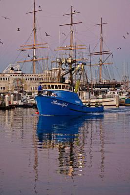 Jake Johnson Photograph - Fv Bountiful In Port by Jake Johnson