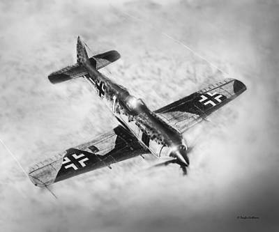 Drawing - Fw-109a by Douglas Castleman