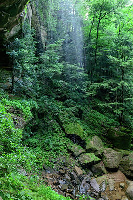 Photograph - Fx10a-2213 Hocking Hills by Ohio Stock Photography
