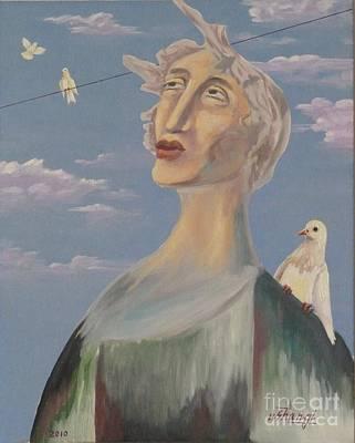 Painting - Fyodor by Ushangi Kumelashvili