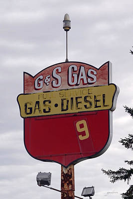 G - S Gas - Sorry We Are Closed Art Print